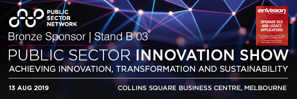 Envision IT - Bronze Sponsor Public Sector Innovation Show 2019